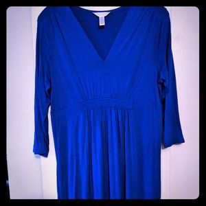 Royal Blue Maternity Dress